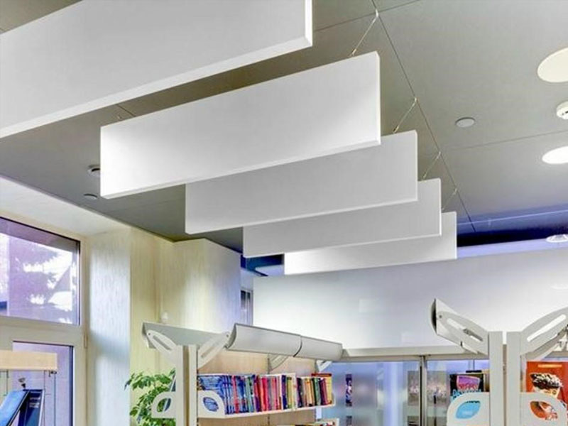 Hanging Acoustic Panels Sound Baffles For Ceilings